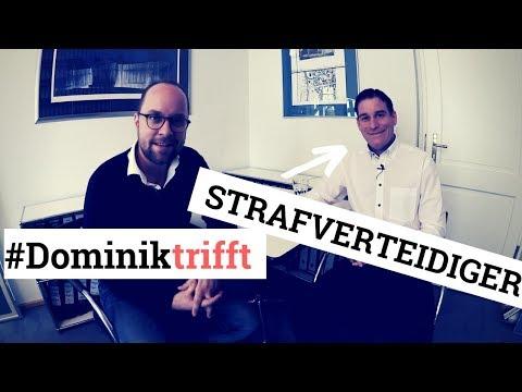 Was macht eigentlich ein Strafverteidiger? #Dominiktrifft Prof. Florian Eder