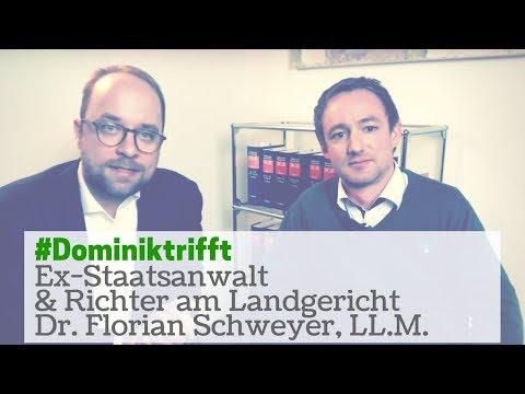 Staatsanwalt & Richter | #Dominiktrifft: Ex-Staatsanwalt und Richter