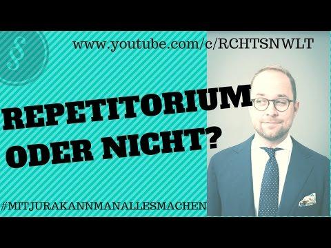 Repetitorium oder nicht? | Jura studieren