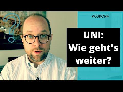 WIE geht es mit der Uni jetzt weiter? #Corona