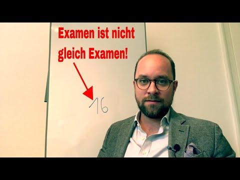 Der Beweis! Examen ist nicht gleich Examen! | Jurastudium