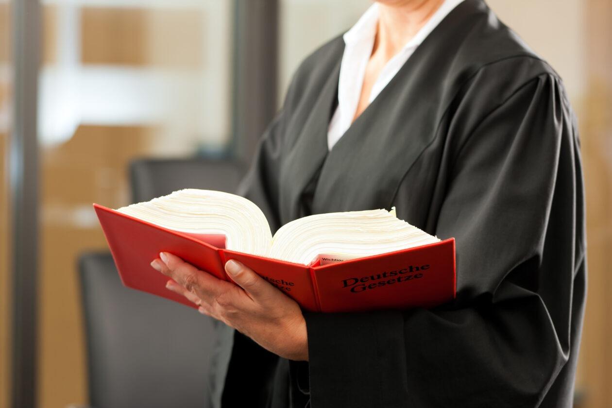 Richter Arbeitsalltag